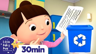 Recycling Song | Earth Day +More Nursery Rhymes and Kids Songs | Little Baby Bum