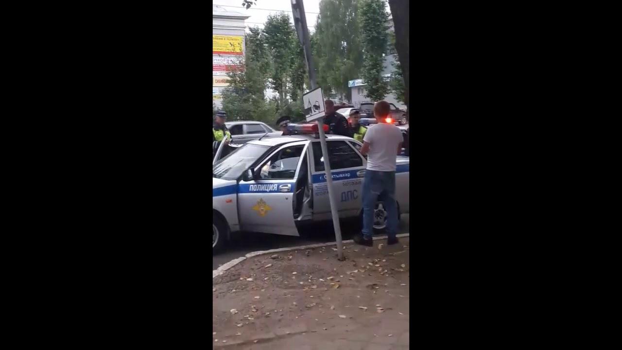 ДТП на Первомайской, Сыктывкар