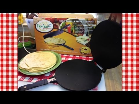 Making Tortillas with The Perfect Tortilla Press ~Product Share~