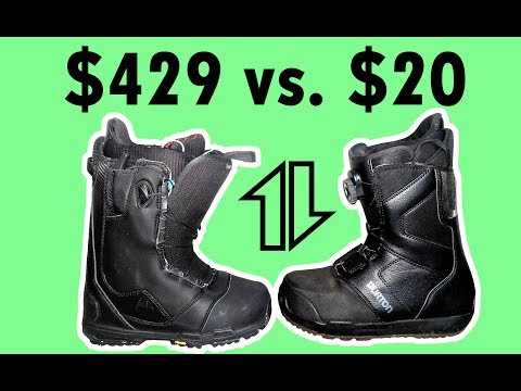 Snowboard Boots: Cheap Vs. Expensive