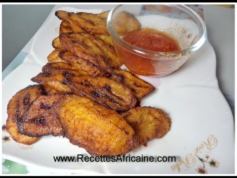Fried Plantains – African food Recipes