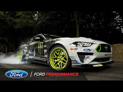 Mustang Hill Climb Goodwood Festival 2018 Ford Performance
