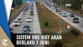 Sistem One Way untuk Arus Balik Rencananya Akan Mulai 7 Juni dari GT Kalikangkung Semarang