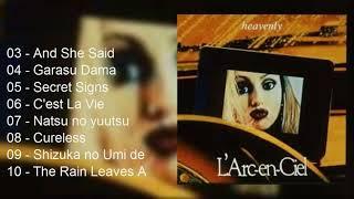 Heavenly Full Album 1995 From L'arc En Ciel [HD]