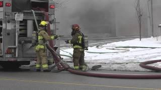 Cochrane Street Fire