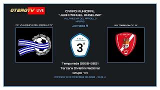 R.F.F.M - TERCERA DIVISIÓN NACIONAL (Grupo 7A) - F.C. Villanueva del Pardillo 3-1 A.D. Torrejón