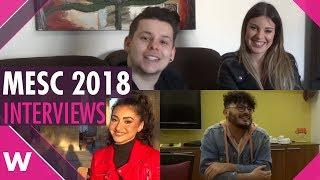 Malta ESC 2018: Deborah C., Jasmine Abela and Matthew Anthony (INTERVIEWS)