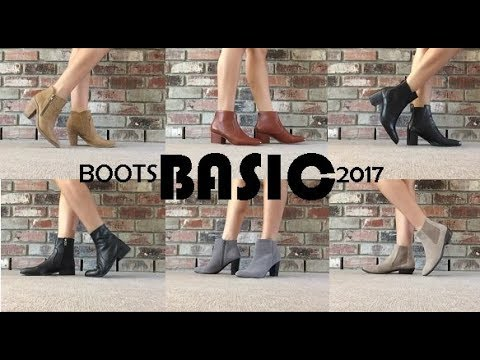 Boots Collection 2017 – Basic Ankle Boots and Chelsea Boots || theStyleHungry