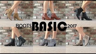 Boots Collection 2017 - Basic Ankle Boots And Chelsea Boots || TheStyleHungry