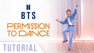 BTS Permission to Dance Dance Tutorial Ellen and Brian...