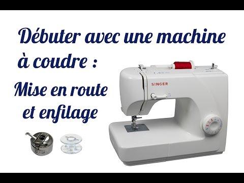 TUTO #1 Débuter avec une machine à coudre : mise en route, bobinage de la canette et enfilage