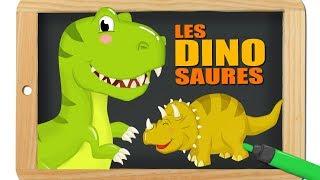 Dinosaures - Mini documentaire pour apprendre - Dessin animé pour les enfants - Titounis