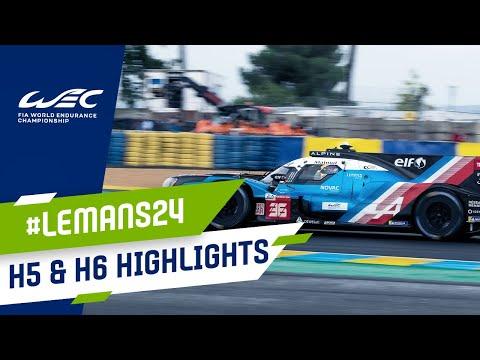 ル・マン24時間 レース5時間から6時間のハイライト動画