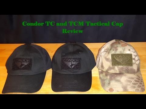 Condor TC and TCM Tactical Cap Review