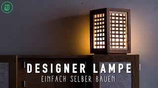 Mit Handwerkzeug: Designer Lampe selber bauen   Jonas Winkler