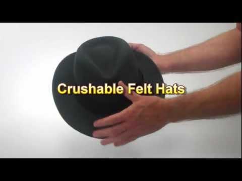 Crushable Felt Hats – Village Hat Shop