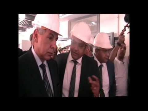 الوزير/ طارق قابيل يفتتح مصنعا جديدا لانتاج مربعات الصلب ( البليت ) بمدينة السادس من اكتوبر