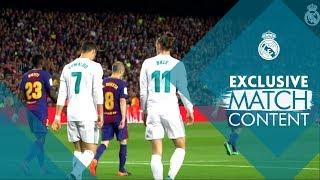 Barcelona Vs Real Madrid 2 - 2 | El Clásico Exclusive MATCH Footage