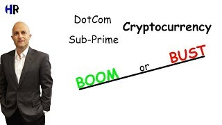 History BOOM or BUST of Cryptocurrency |  Dotcom |  Sub Prime