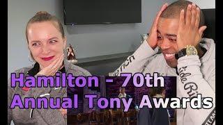 Hamilton: 70th Annual Tony Awards (Jane and JV BLIND REACTION 🎵