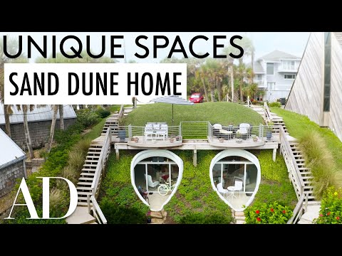 This Unique Dune House is Like a Hobbit Home, But Better