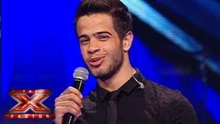 أدهم نابلسي - العروض المباشرة - الاسبوع 4 - The X Factor 2013