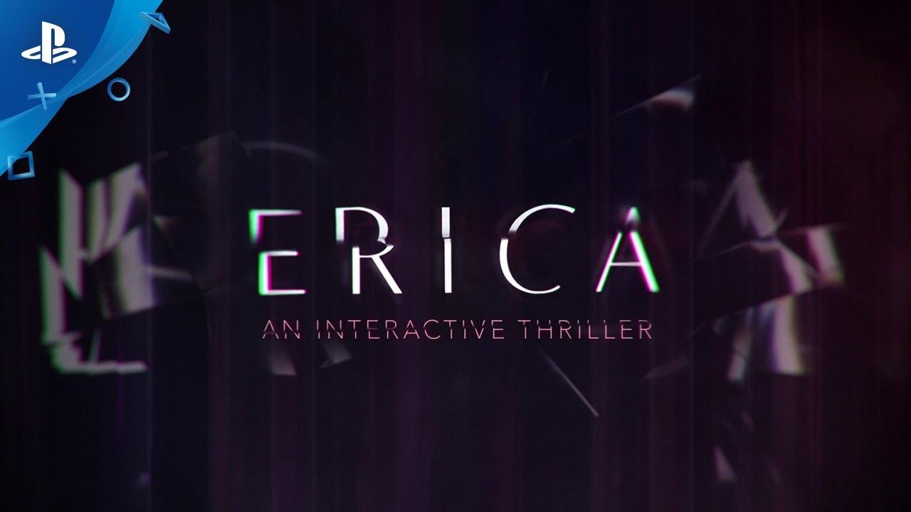 Prova ERICA, il rivoluzionario thriller live-action, ora disponibile su PS4