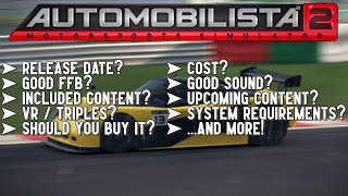 Answering Common Questions about Automobilista 2