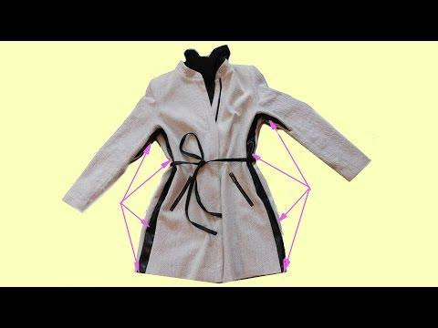 Kleidung breiter machen. Galonstreifen Streifen einnähen.  How to Make a Dress Bigger
