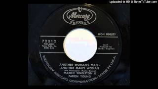Margie Singleton & Faron Young - Another Woman's Man - Another Man's Woman (Mercury 72312)