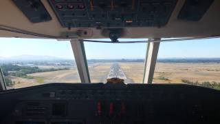 Landing at Sonoma County Airport | Cockpit View