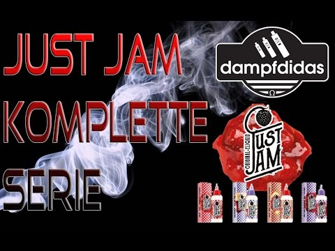YouTube Video zu Just Jam on Toast Premium Liquid 6 x 10 ml