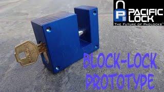 (1190) Review: Prototype PacLock Block Lock