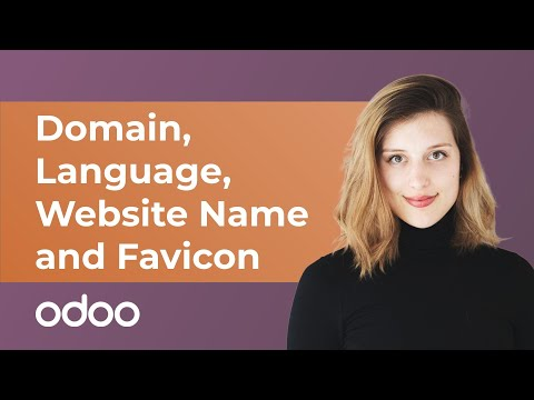 Domain, Language, Website Name and Favicon | Odoo Website