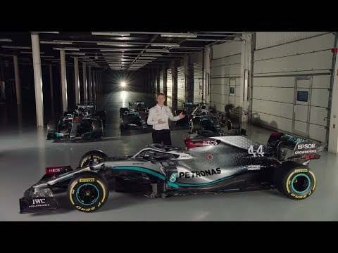 Image: Watch James Allison break down the technical side of the Mercedes W11!