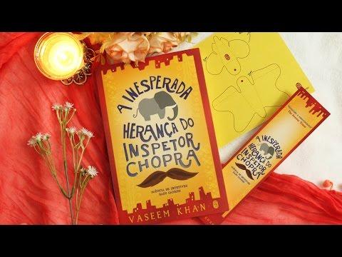 A INESPERADA HERANÇA DO INSPETOR CHOPRA, Vaseem Khan | Crescendo em Flor