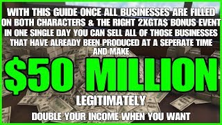 GTA ONLINE $50 MILLION IN SALES IN A DAY WITH PREVIOUS PRODUCED PRODUCT 2X INCOME LEGIT