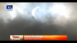 Nigerians Start September With A Spectacular Eclipse