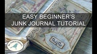 Beginners Junk Journal Tutorial MPP