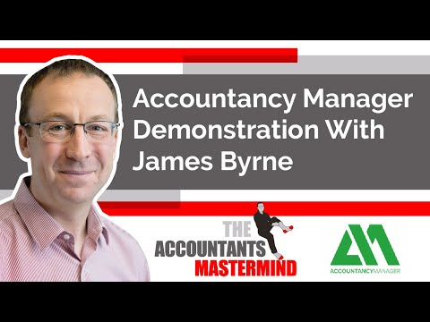Accountancy Manager Demonstration With James Byrne - YouTube