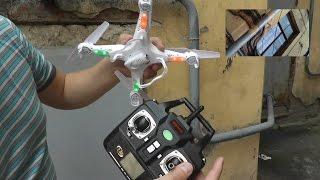 Квадрокоптер Syma X5C Explorers 2.4G с камерой HD (полет в зоопарк!)