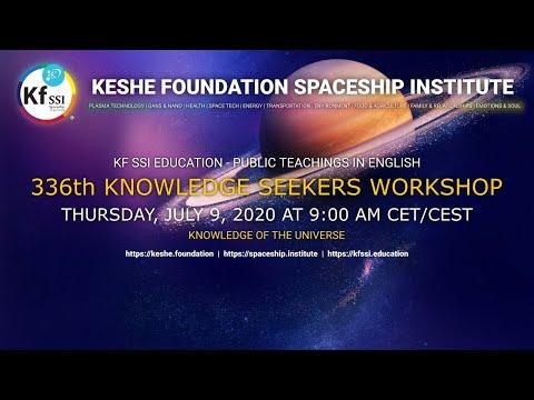 336th Knowledge Seekers Workshop; July 9, 2020