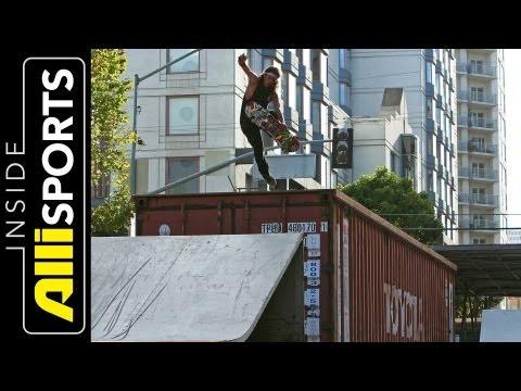 David Gonzalez Skating Dew Tour San Francisco | Inside Alli Sports