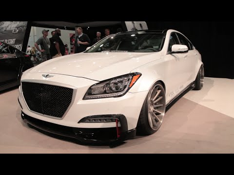 Hyundai Genesis AR550 - 2014 SEMA Show