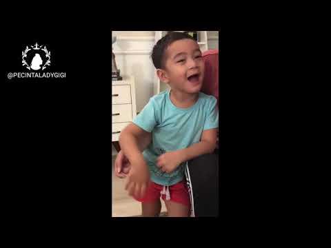 Rafathar Nyanyi Nyanyi Jailin Mama Gigi mau Tidur