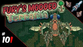 Fury's Modded Terraria | 101:  Mantid Matriarch  Metamorphs