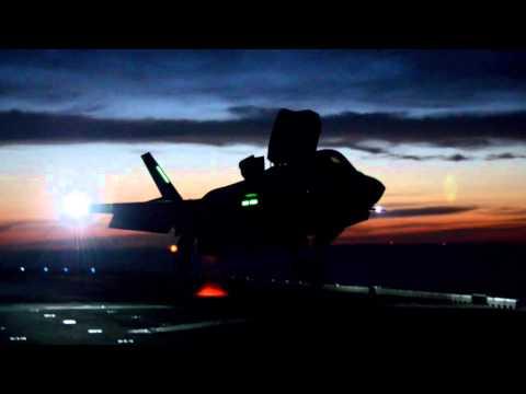 Crew Interviews from F-35B Ship Trials
