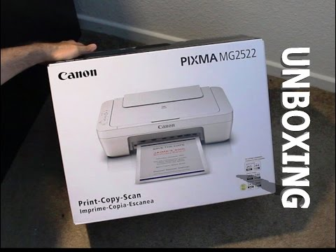 Canon Pixma MG2522 Printer, Scanner & Copier (Unboxing)