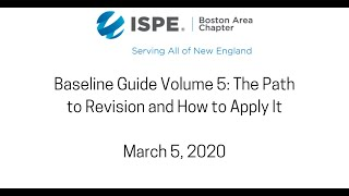 Baseline Guide Volume 5: The Path to Revision and How to Apply It