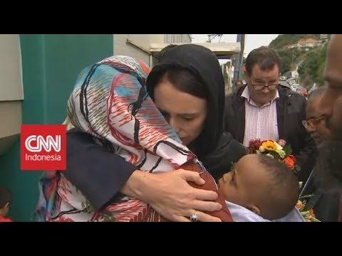 PM Selandia Baru Kunjungi Korban Serangan Teroris